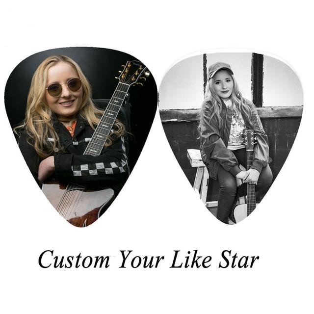 Фото 100 шт персонализированные целлулоидные гитарные медиаторы на цена