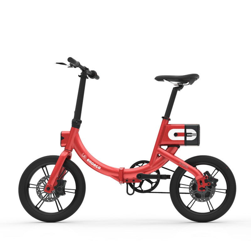 16inch electric font b bicycle b font fold Urban lightweight couple electric mobility font b bicycle