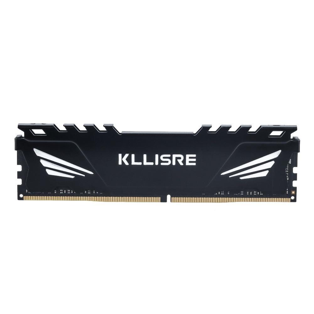 Kllisre ram ddr4 4GB GB 16 8GB de memória 2133MHz 2400MHz 2666MHz 1.2V dimm de desktop Compatível Com Alta