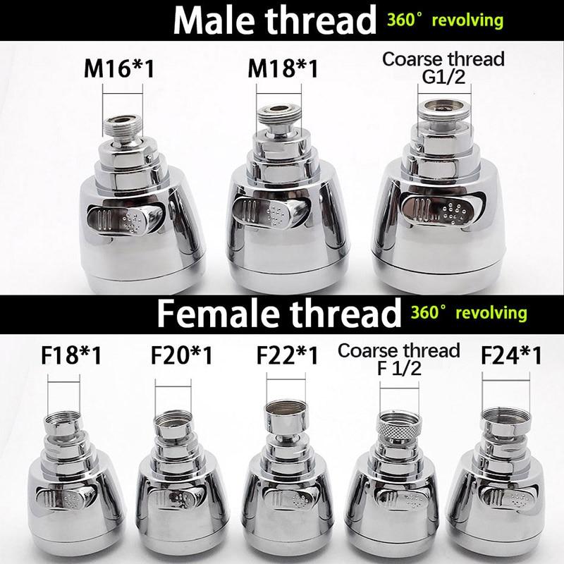 M19 female x M22 male thread adapter chrome Gewindeadapter M19 IG x M22 AG