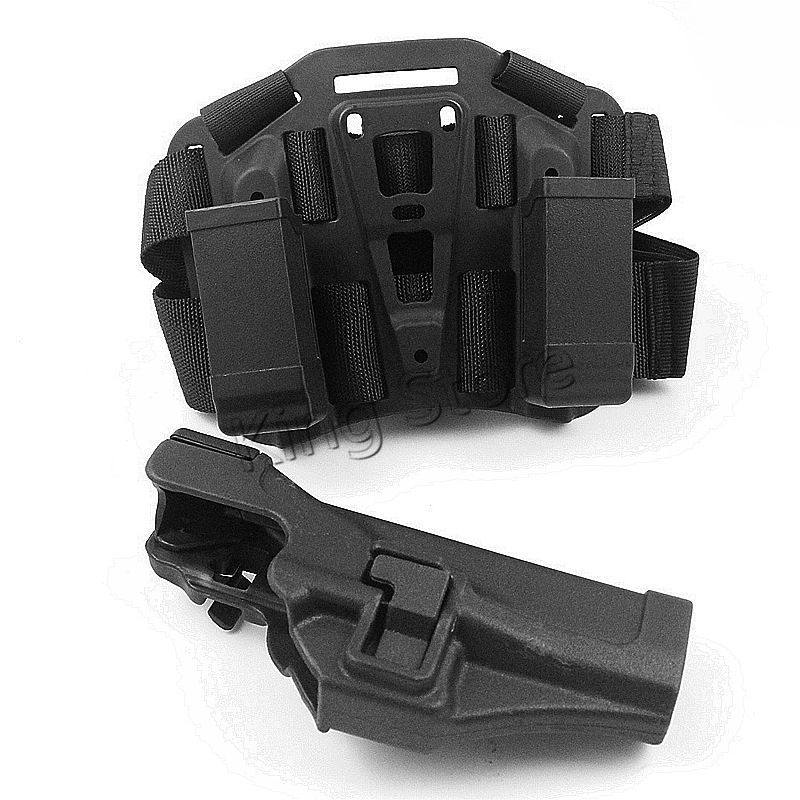 Wholesale GL 17 Thigh Holster for Outdoor Hunting CS War Game Gun Holster Pouches