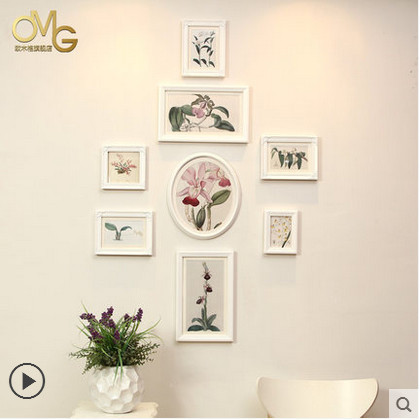 New Design Wall Collage Photo Frame,White Combination Baby Photo ...