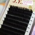 Herramientas profesionales Del Maquillaje de pestañas Postizas de Visón Extensiones de Pestañas Individuales de Seda De Corea Del BCD Curl 8-15mm 50 Bandejas Al Por Mayor