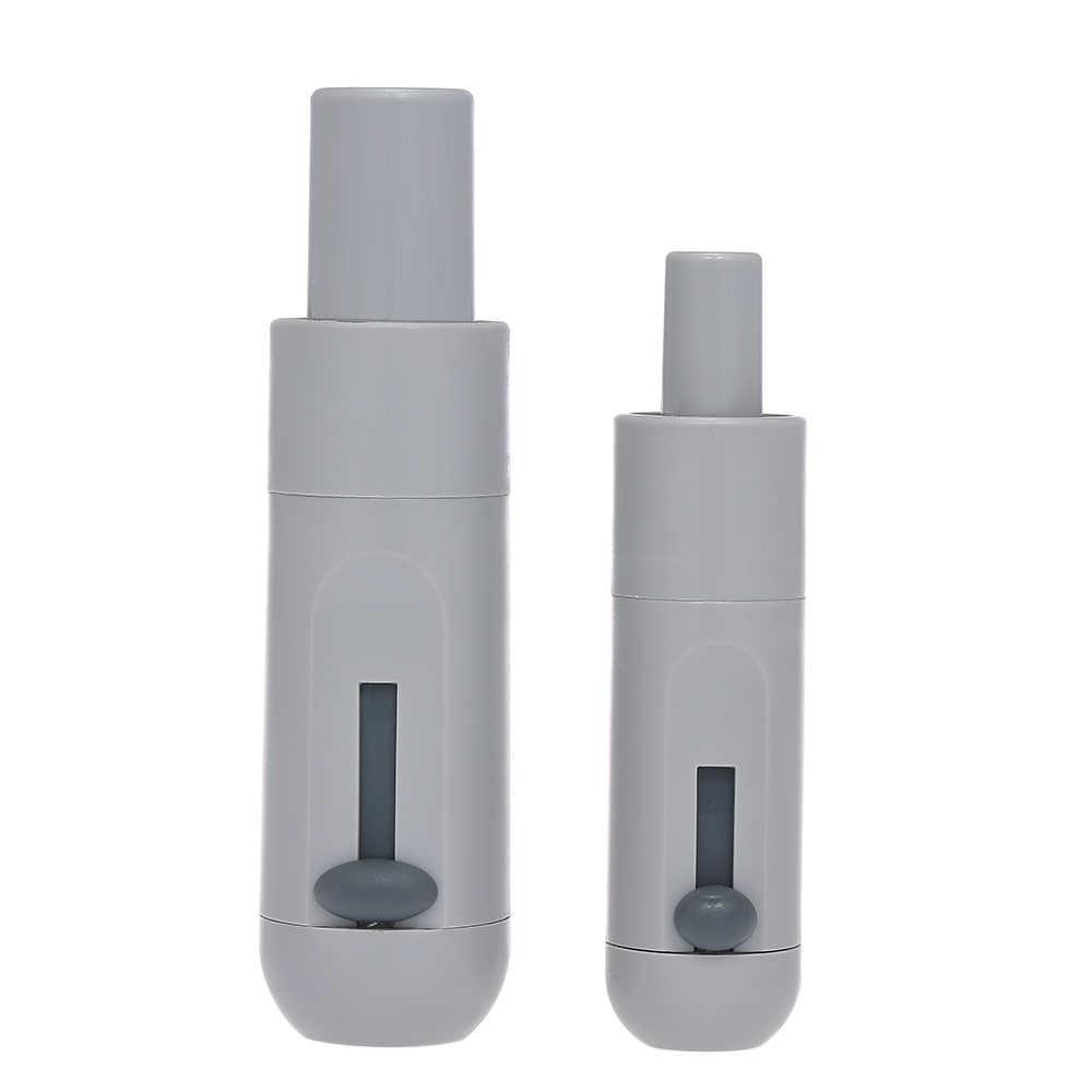 2 pcs Universale Saliva Girevole Ventosa di Aspirazione Maniglia Con Valvola Regolabile Forte di Aspirazione Debole In Autoclave Dentale attrezzature Grigio
