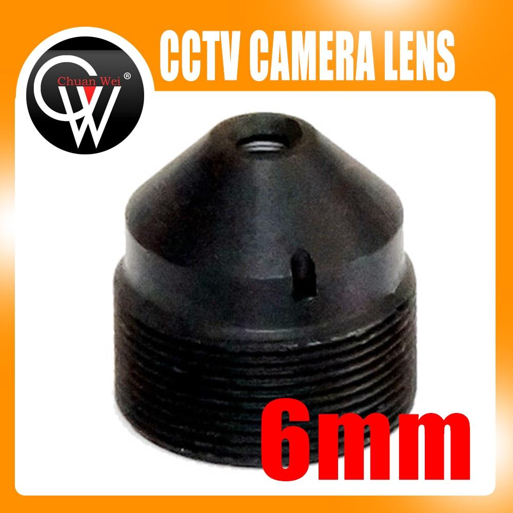 цена на High Quality 2.0MP 6mm lens Pinhole Lens CCTV Board Lens For CCTV Security Camera / IP Camera