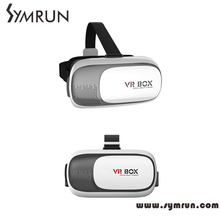 Symrun Head Mount Vr Virtual Reality Smartphone 3D Glasses + Bluetooth Remote Control Gamepad Virtual Reality Glasses