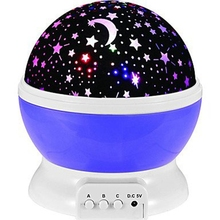 Novelty Night Light Projector with Starry Star Moon Sky