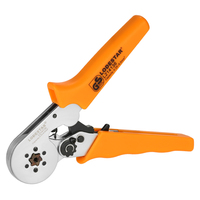 Professional Crimping Tool Wire Stripper Crimpers Ratchet Multifunctional Terminal Crimping Plier Press Pliers 24~10 AWG