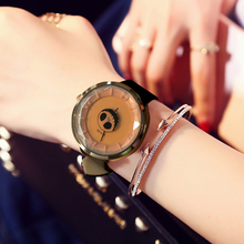 2017 SINOBI Skull Women Wrist Watches Leather Watchband Luxury Brand Lady Watch Fashion Female Geneva Pirate relogio feminino