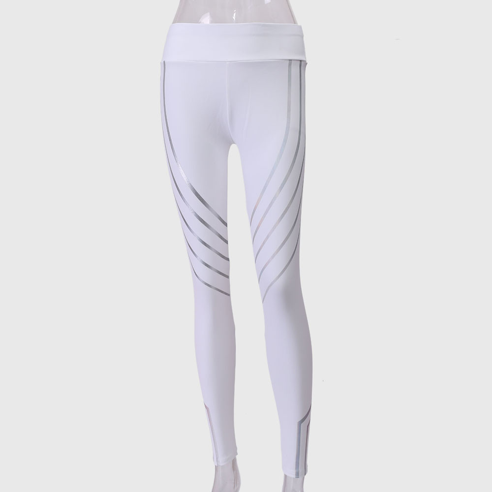 Mujeres yoga pantalones leggings codos fitness medias mujeres cintura yoga fitness leggings running gym stretch deportes Pantalones