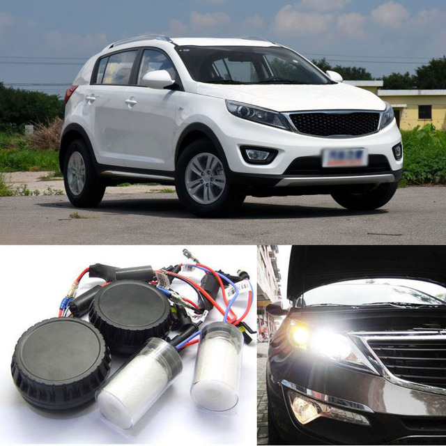Generation All In One Lower Beam Error Free HB3 HID Lights For KIA Sportage R 2016-2017