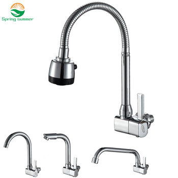360 degree revolving single cold wall faucet Cold Kitchen Faucet, single Cold Sink Tap, torneira Cold Kitchen Tap фото