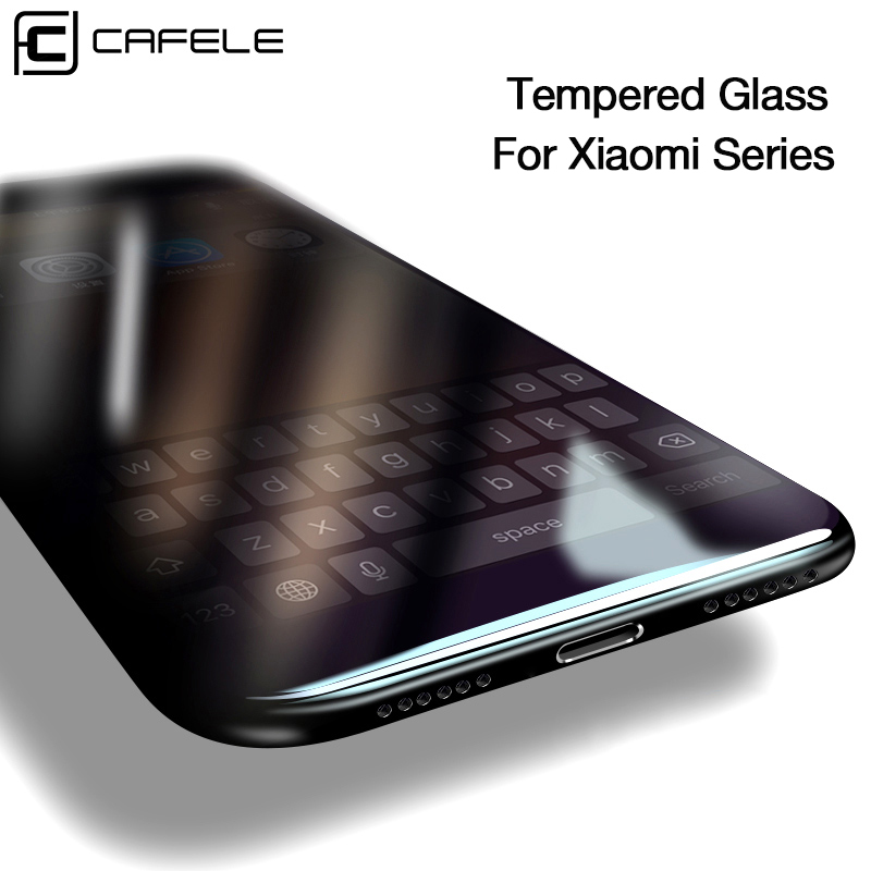 CAFELE Screen Protector for Xiaomi Redmi K20 Pro Note 9 7 8 pro mi 9 8 6 5s mix 3 2 2s A1 5X Tempered Glass 3D Protective Film(China)