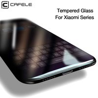 CAFELE Screen Protector for Xiaomi Redmi K20 Pro Note 9 7 8 pro mi 9 8 6 5s mix 3 2 2s A1 5X Tempered Glass 3D Protective Film