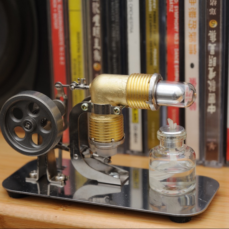 Stirling engine generator engine External combustion engine micro generator model v4 model stirling engine generator set