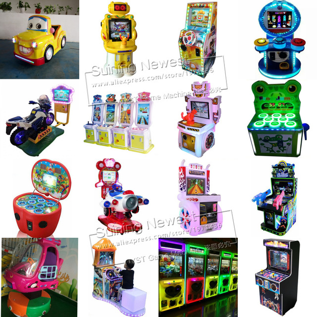 Kids Indoor Playground Fairground Amusement Park Token Coin Operated Arcade Game Machine For Game Center and Shopping Malls