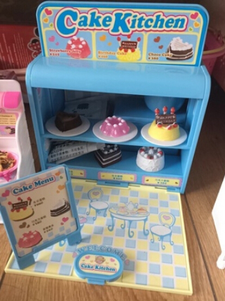Free Shipping Japan Konapun Cake Maker Toy Cooking Games Cakes Kid