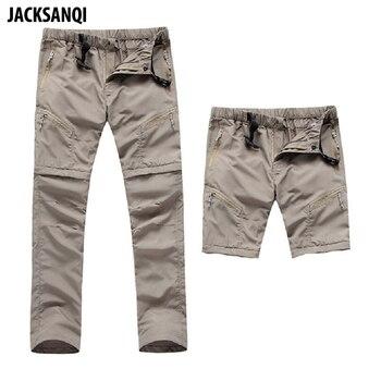 JACKSANQI Quick Dry Detachable Hiking Pants