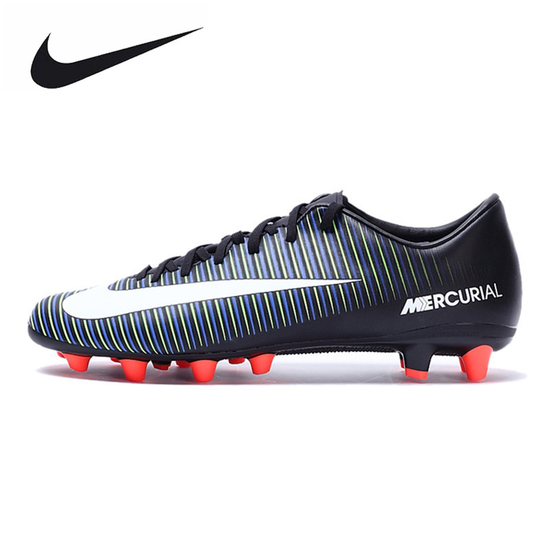 NIKE MERCURIAL VICTORY VI AG-PRO Men's Light Comfortable New Arrival 2017 Football Soccer Shoes Sneakers 831963013 original new arrival nike mercurial victory v tf men s soccer shoes football sneakers