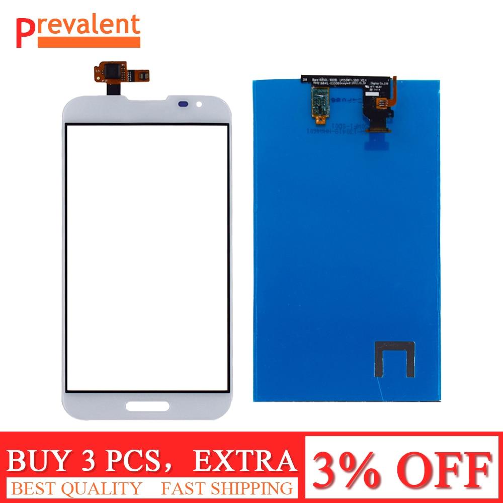 Per LG Optimus G Pro F240 F240K F240L E980 E988 Sensore di Tocco Digitale Dello Schermo del Pannello di Vetro + LCD Display del Pannello monitor