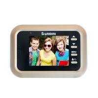 LCD 2.4 inch TFT Color Screen PIR Motion Detection Video Doorbell Digital Door Peephole Viewer HD IR Night Vision Door