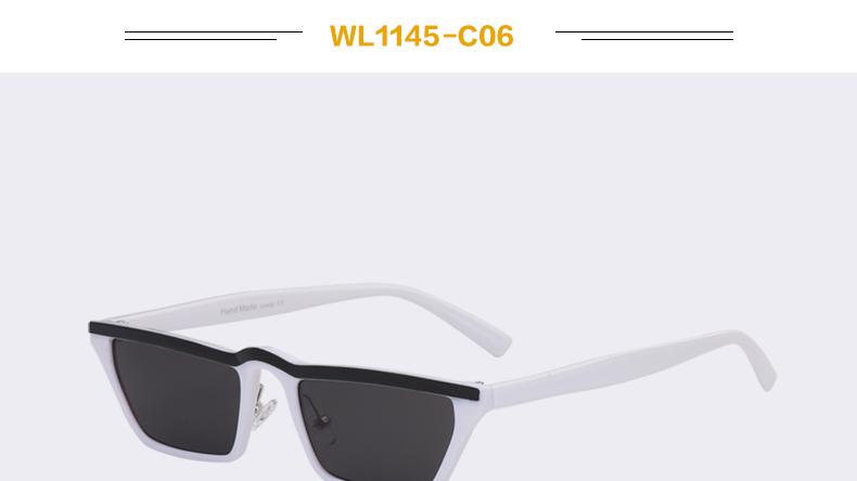 HTB1v2qnccbI8KJjy1zdq6ze1VXaJ - Winla Fashion Design Women Sun Glasses Flat Top Sunglasses Square Frame Classic Shades Vintage Eyewear Oculos de sol WL1145