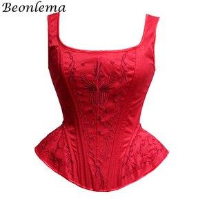Image 1 - Corpete corpetes e corpetes de casamento corpetes e corpetes sexy corset corpete de renda bordado