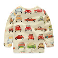 Baby car basic shirt 2016 spring children's clothing boys long-sleeve T-shirt