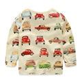 Baby car basic shirt 2016 spring children's clothing boys long-sleeve T-shirt