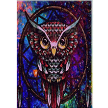 DIY special owl diamond painting animals dimaond embroidery full drill mosaic round