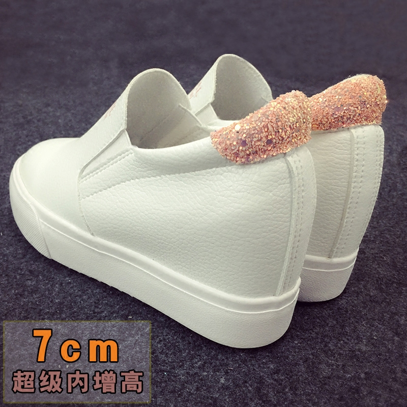 Free shipping within the higher spring and the new super low cut leather casual shoes a