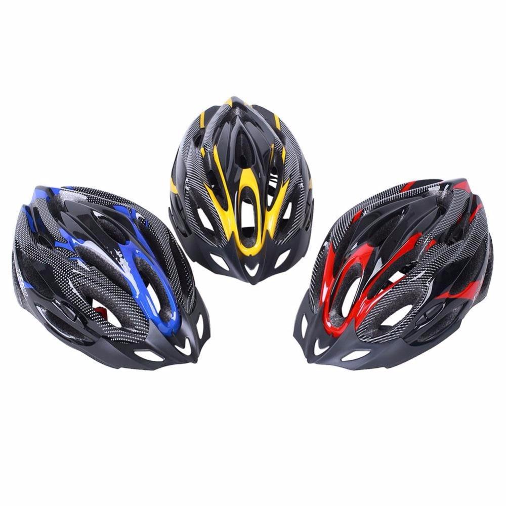 Prix pour Vélo vélo casques de vélo adulte réglable ciclismo vtt 16 trous head protecteur avec visière vélo accessoires