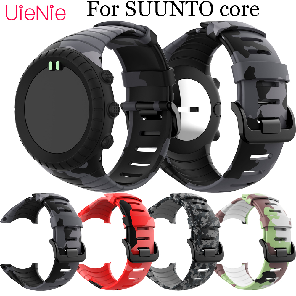 For SUUNTO Core Frontier/classic Silicone Printing Sport Wristband Replacement Strap For SUUNTO Core Smart Watch Bracelet Wrist