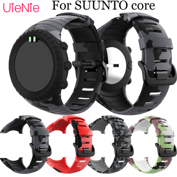 For SUUNTO core Frontier/classic silicone printing Sport Wristband Replacement strap For SUUNTO core smart watch bracelet Wrist for suunto core camouflage strap for suunto core frontier classic smart sports silicone replacement wristband strap accessory