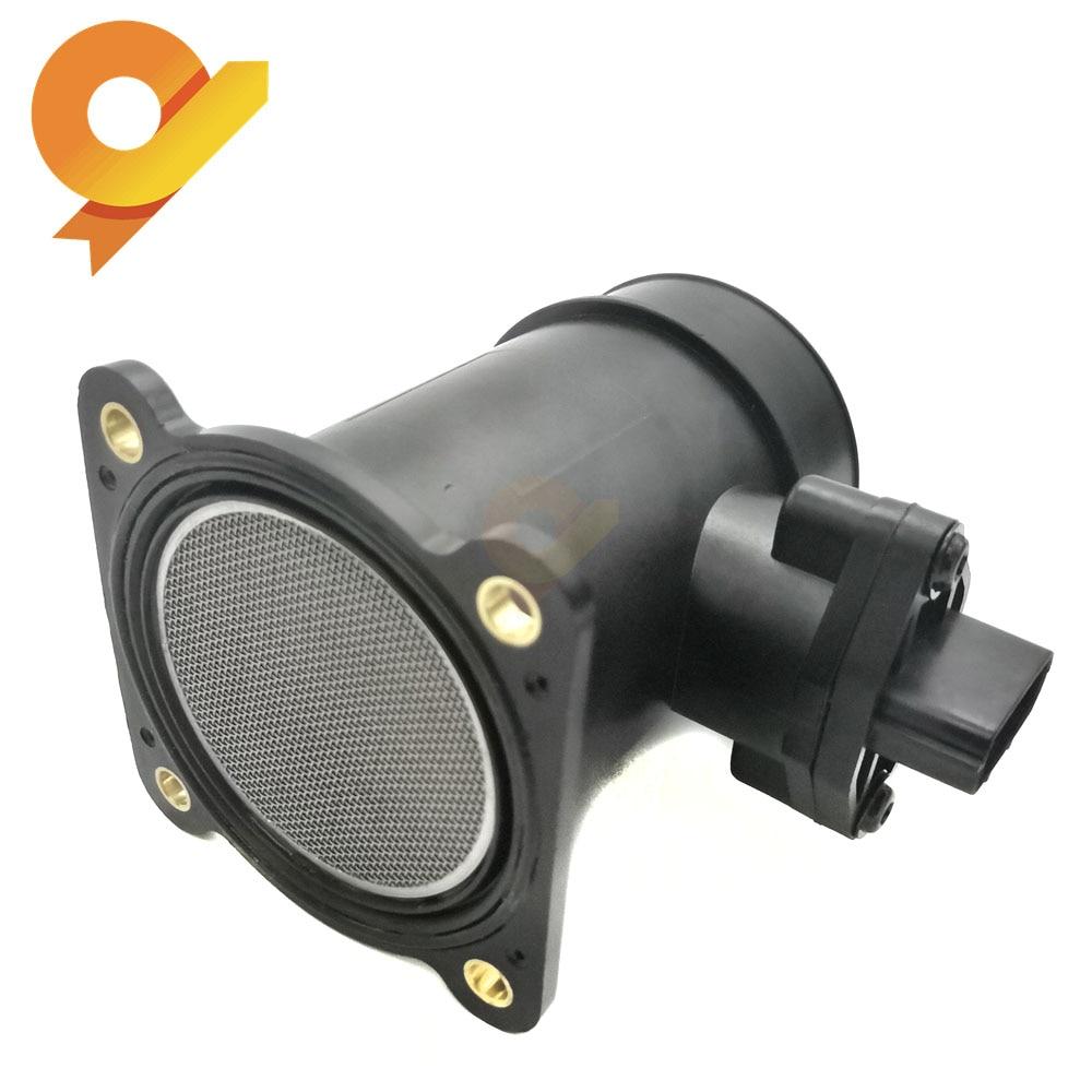 22680-5U400 0280218094 Mass Air Flow MAF Sensor For Nissan Almera MK II Tino V10 N16 Primera P10 P11 P12 1.5 1.6 1.8L 2.0 16V22680-5U400 0280218094 Mass Air Flow MAF Sensor For Nissan Almera MK II Tino V10 N16 Primera P10 P11 P12 1.5 1.6 1.8L 2.0 16V