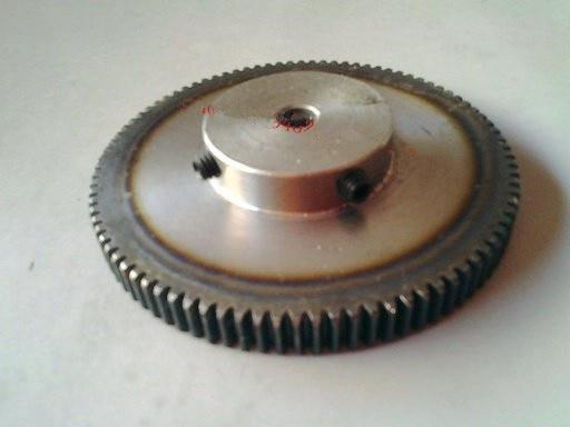 все цены на  Spur Gear pinion 130T 1 mod gear rack 130 teeth bore 10mm spur gear precision 45 steel cnc rack and pinion  онлайн
