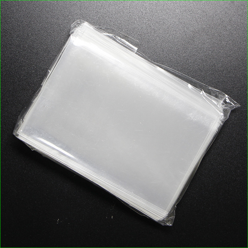 buy plastic clear card sleeves and get free shipping on aliexpresscom - Plastic Sleeves For Cards
