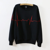 Pure Color WoMen Hoodies Wholesale Embroidery Round Neck Long Sleeve Sweatshirts For Women 692