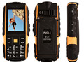 Original N° 1 a9 IP67 A Prueba de agua a prueba de golpes Dual SIM Tarjeta de teléfono móvil de la célula 4800 mAh batería FM linterna puede Ruso teclado