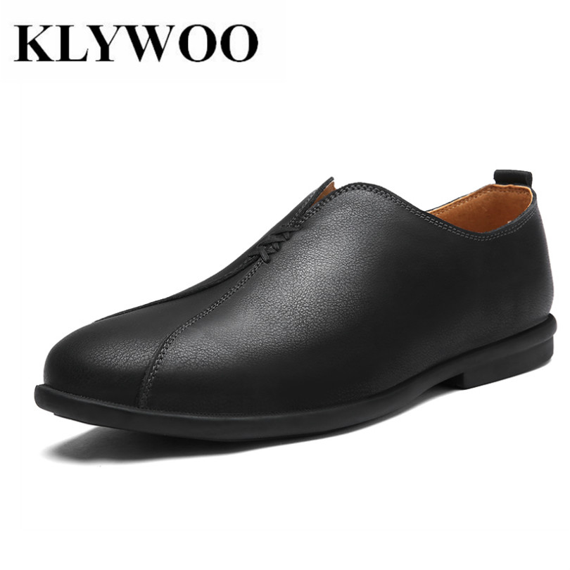 KLYWOO Handmade Leather Men Shoes Soft Moccasins Loafers for Men Casual Shoes Fashion Brand Men Driving Shoes Breathable cbjsho brand men shoes 2017 new genuine leather moccasins comfortable men loafers luxury men s flats men casual shoes