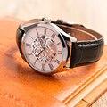 Часы мужские японские Move Мужские t Кожаный ремешок подарок на день рождения часы
