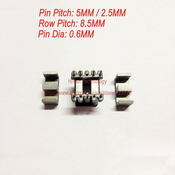 20sets/lot EE13 PC40 Ferrite Magnetic Core and 4 Pins + 3 Pins Top Entry Plastic Bobbin Customize Vo