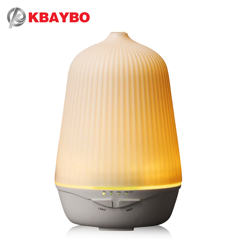 Ultrasonic Air Aroma Humidifier With Night Light Aromatherapy Essential Oil Diffuser Cold Mist and 4 Timing