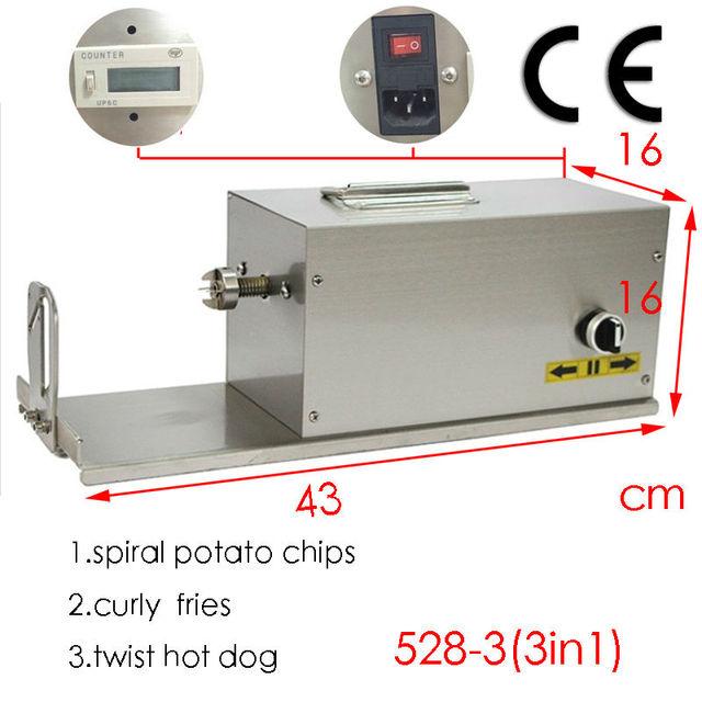110v 220v potato spiral cutter Pakistan  potatoe curly cutter machine canada potato twister machines australia with ce52838103