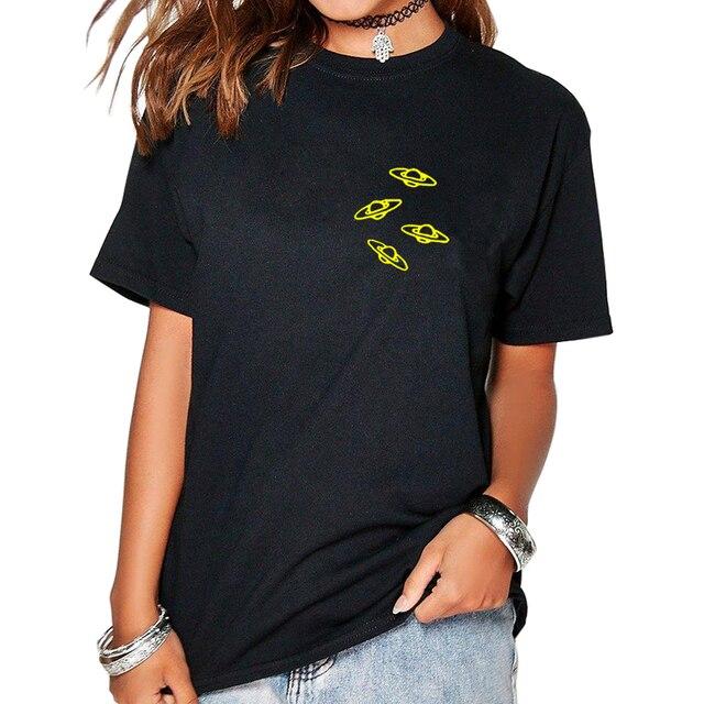 7df9b5e2c9e 2018 New Fashion Alien Women s Cotton T-Shirt Harajuku Tumblr t shirt  mother s Clothes poleras Vintage TShirt for Female Top