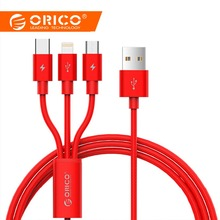 ORICO USB Cable for iPhone 7 6 6s 5 5s Charging Charger Lighting Type C Micro US