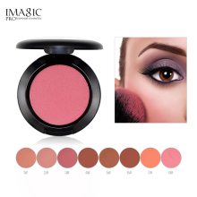 IMAGIC Makeup Pressed Loose Powder Pro Puff Smooth Face Foundation Waterproof Nature Finish Beauty Tools 8 Color