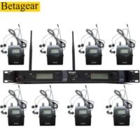 Betagear SR2050 IEM 8 Empfänger in ohr bühnen system monitor BT2050 kopfhörer bühne monitor iem überwachung system-in Bühnen-Audio aus Verbraucherelektronik bei