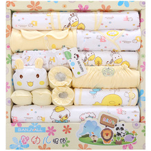 18 piece newborn baby set boy clothes 100% cotton infant suit baby girl clothes outfits pants baby clothing hat bib ropa de bebe 2016 winter baby girl newborn cotton padded clothes sets character outerwear pants infant bebe girls casual clothing set