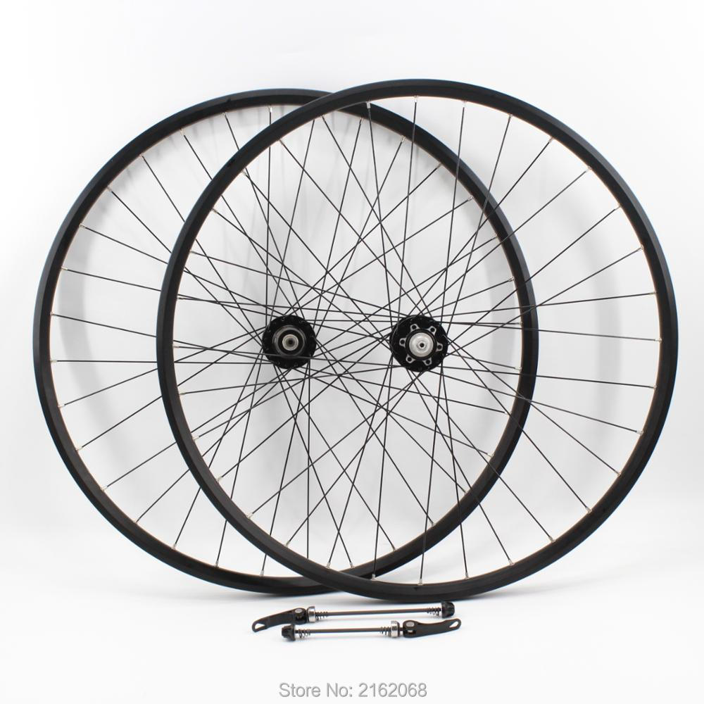 Newest 20/26/27.5/29er inch Mountain bike aluminum alloy bearing disc brake hubs clincher rim bicycle wheelset MTB Free shipping free shipping lutu xt wheelset mtb mountain bike 26 27 5 29er 32h disc brake 11 speed no carbon bicycle wheels super good
